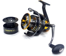 FORCE 8000 FD Sea Fishing Reel - Strong Winch Sea Surf Reel & Spare Spool