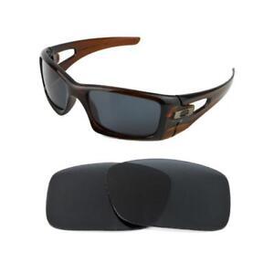 Nuevo-Polarizado-Reemplazo-Negro-Lente-Para-Oakley-del-carter-Gafas-De-Sol
