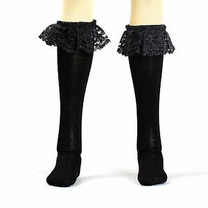 BJD DOLL Dollfie Black  lace stocking Socks Clothes for 1//6 SD