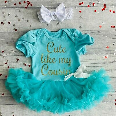 Cute Birthday Christmas Newborn Princess Gift Keepsake Present Customise and Personalise Your Own Lilac Tutu Romper with Bow and Headband