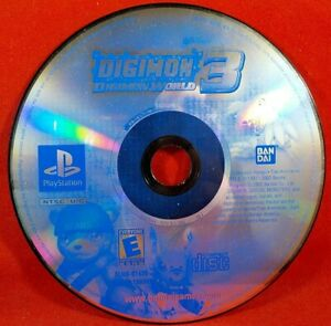 Details about Digimon World 3 (aka Digimon World 2003) - NTSC USA *GC  TESTED* PS1 PlayStation