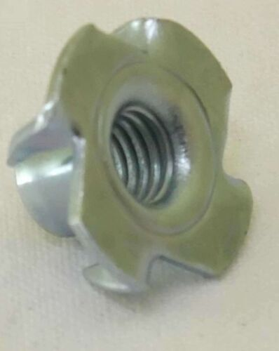 1000 x Einschlagmutter M8 x 11 Gewinde Einschlagmuttern 8x11 verzinkt DIN 6930