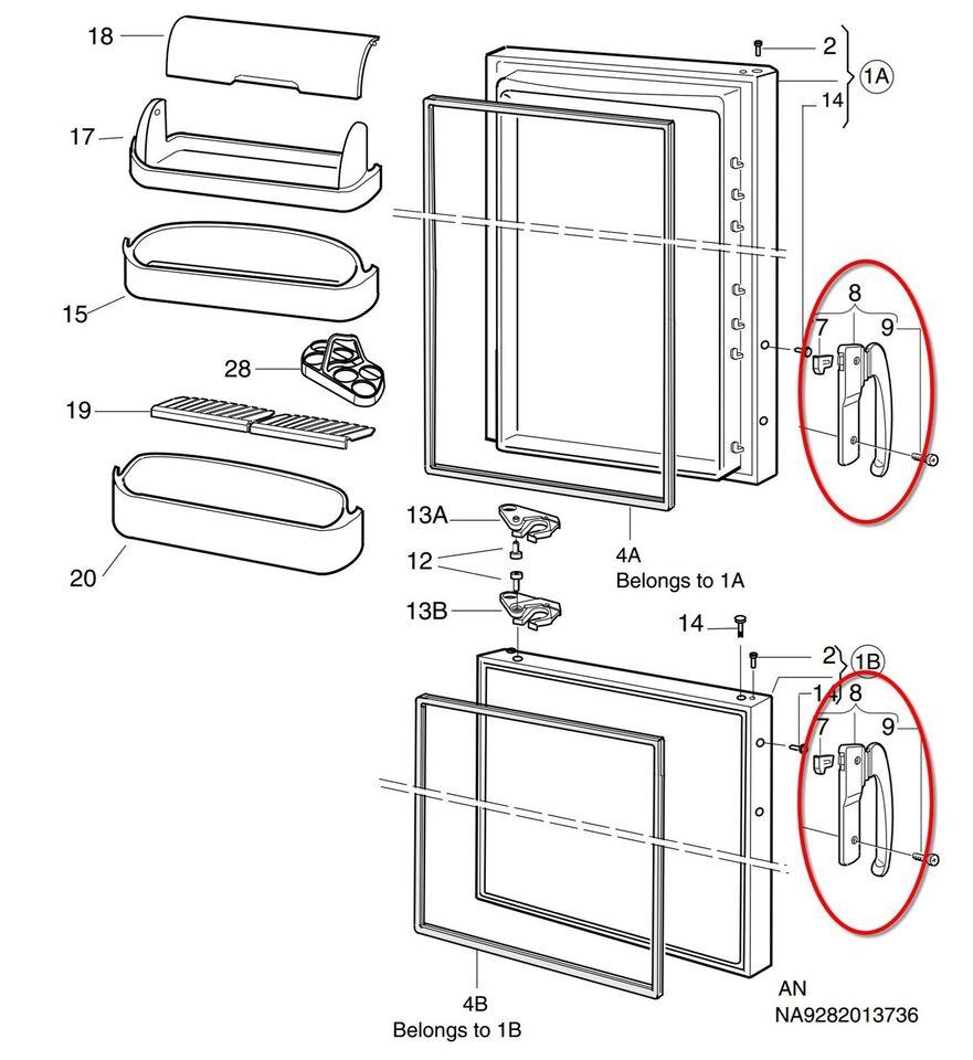 Andet køleskab, Electrolux ER8100B