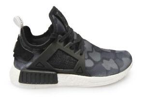 Detalles de Para Hombre Adidas NMD_XR1 BA7231 Negro Blanco Zapatillas ver título original
