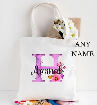 BRIDE TO BE BUNTING PINK WEDDING TOTE SHOPPER SHOPPING BAG PERSONALISED GIFT
