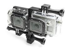 3D Waterproof Casing Connector + Tripod Mount für GoPro HERO 3 Black Zubehör