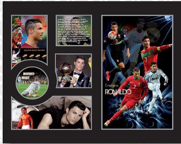 New Cristiano Ronaldo Signed Real Madrid Portugal Limited Edition Memorabilia