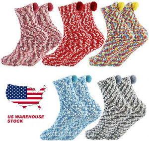 Womens-Fuzzy-Socks-Thermal-Winter-Warm-Thick-Cozy-Sherpa-Fluffy-Indoor-Christmas