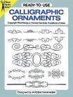 Dover Clip-Art: Ready-to-Use Calligraphic Ornaments by Kiyoshi Takahashi (1987, Paperback)