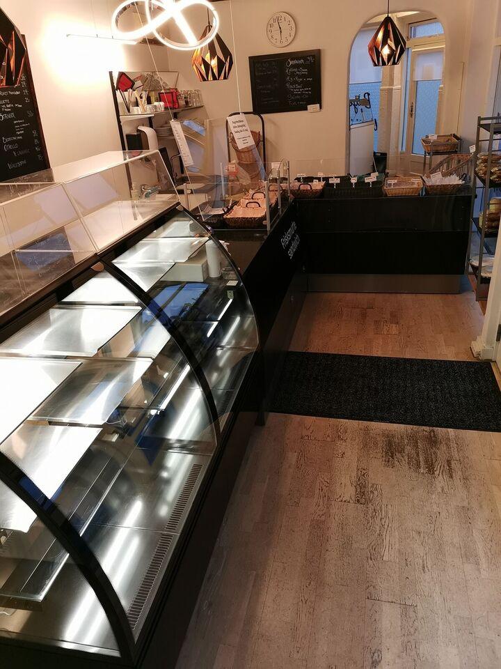 Bagerbutik / café inventar