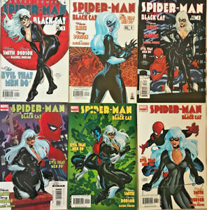BLACK CAT#1-6 NM LOT 2002 KEVIN SMITH MARVEL COMICS SPIDER-MAN