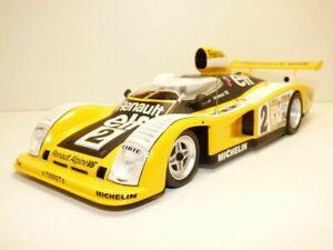Norev Renault Alpine A442 Le Mans 1976 24H 1//18 Modell Auto mit individiuellem Wunschkennzeichen