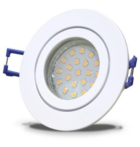 5W LED Einbauspots IP44 Innen /& Aussen /& Feuchtraum Stufen Dimmbar 230V