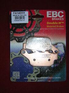 1CW 10-12 REAR SET DISC BRAKE PADS YAMAHA XJ6-F Diversion 600cc Full Fairing