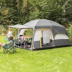Sport skandika Tonsberg 5 Personen Familienzelt Campingzelt Doppelwandzelt blau NEU Zelte & Strandmuscheln