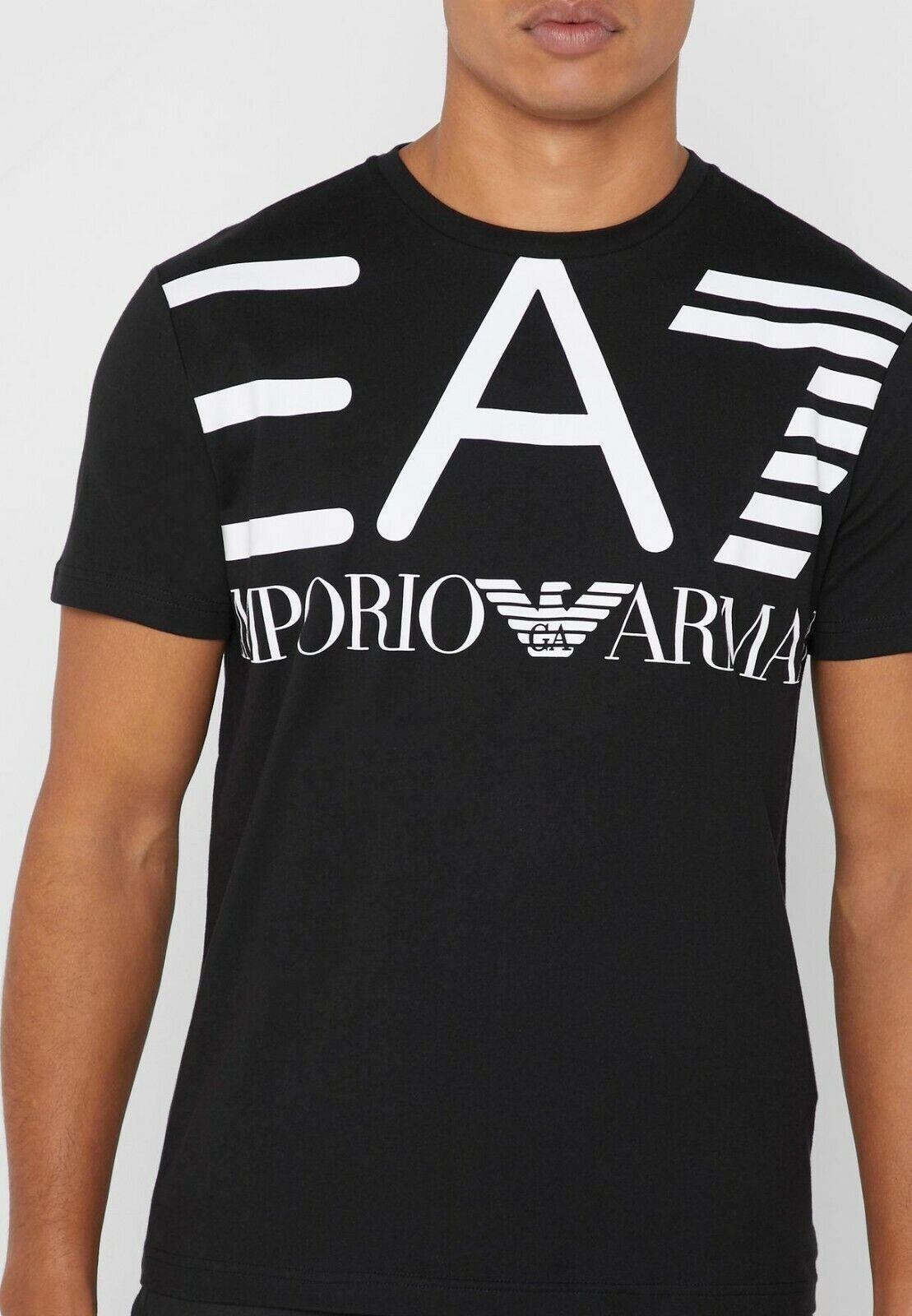 EA7 Camiseta de Hombre Cuello rojoondo Emporium  Armani Art. 3GPT06-2 Colors  n ° 1 en línea
