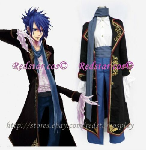 Made in Any size Vocaloid Kaito Sandplay Singing of Dragon Cosplay Costume