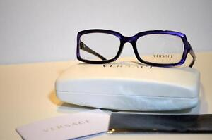 7f12a53130c6 New Authentic Versace Eyeglasses VE3143 907 Blue VE 3143 52mm Made ...