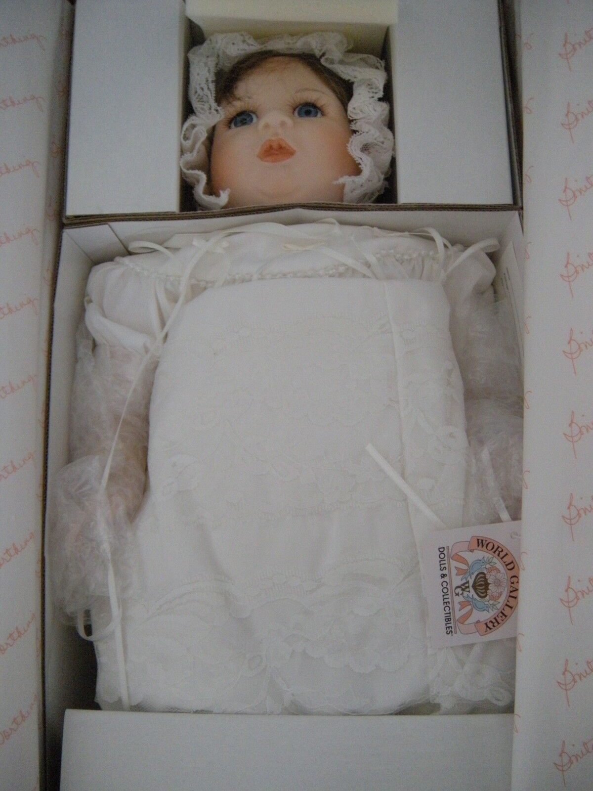 Welt Gallery Dolls Collectibles  Sissy   783 1500 Porcelain CMasseh Doll 16  NIB