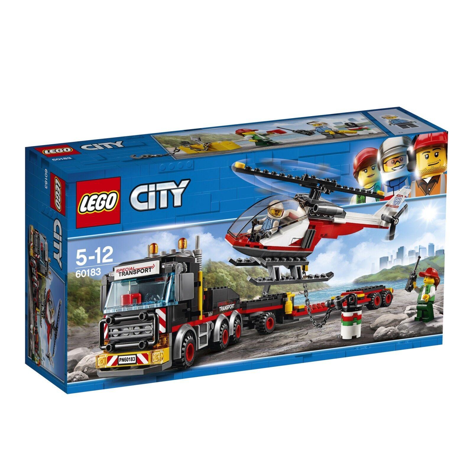 LEGO ® City 60183 pesanti Transporter Nuovo OVP _ Heavy Cargo trasporto NEW MISB