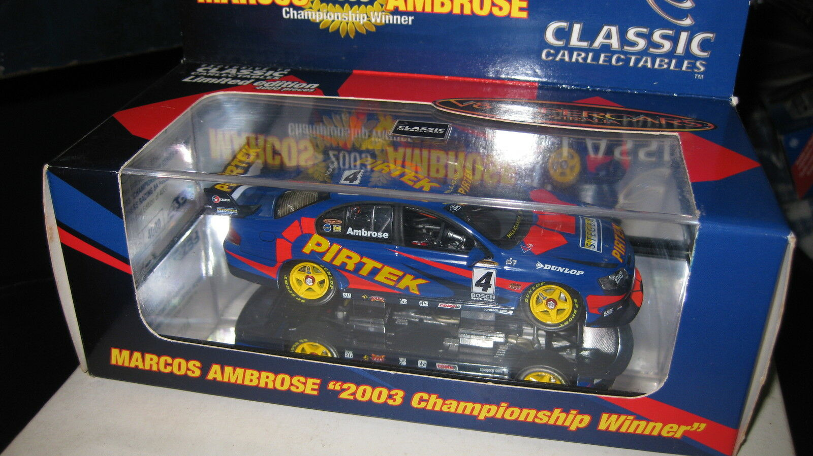 CLASSIC1 43 MARCOS AMBpink SBR PIRTEK BA FALCON 2003 CHAMPIONSHIP WINNER 2004-8