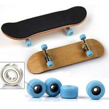130mm Wooden Deck Fingerboard Skateboard Sports Games Kids Gift Maple Wood
