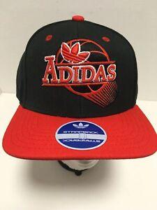 ADIDAS-Swing-Logo-Baseball-Hat-Adjustable-Size-Strapback-Ball-Cap-NEW-NWT