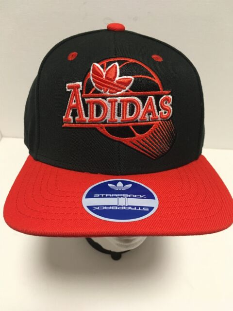 ADIDAS Swing Logo Baseball Hat Adjustable Size Strapback Ball Cap NEW NWT