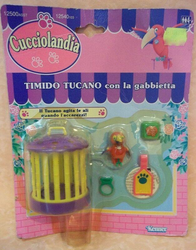 CUCCIOLANDIA TUCANO CON CON CON LA GABBIETTA anno 1993  cod.9672 56a52d