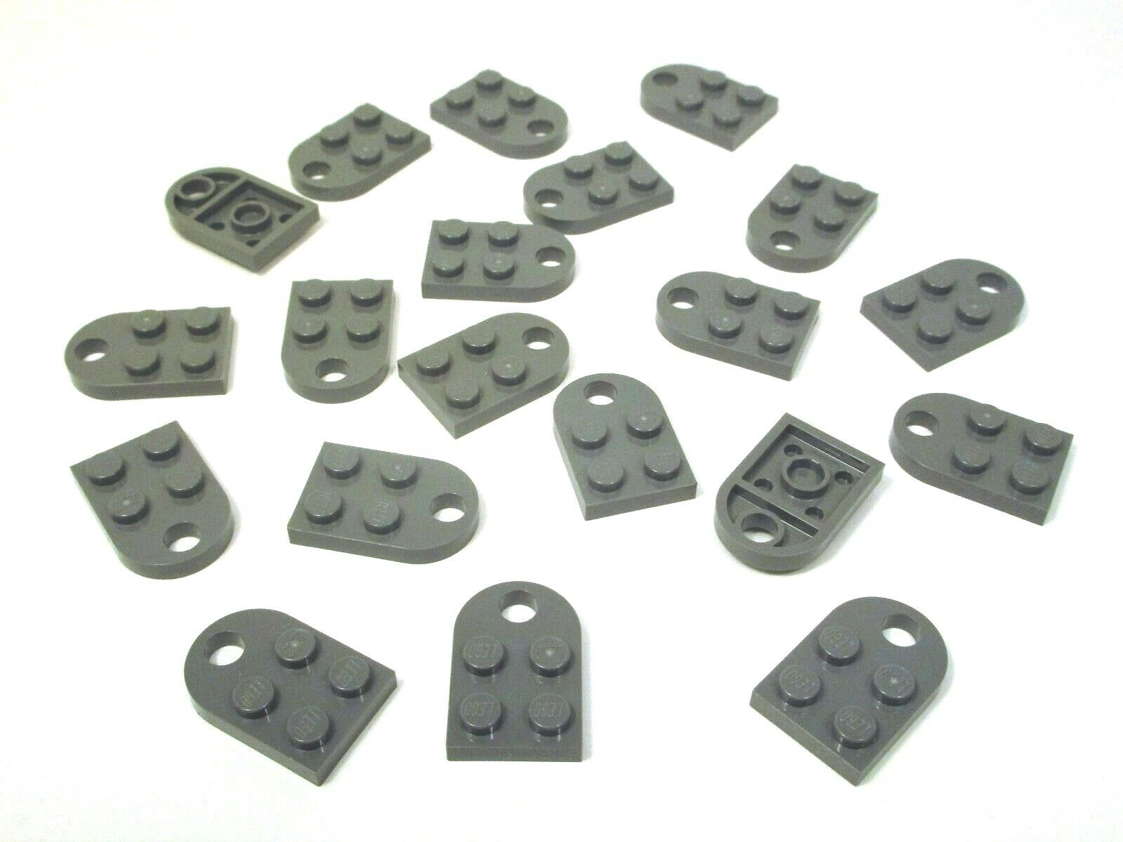 New Genuine LEGO Heart Charm 3x2 Plates with Hole Coupling Lime Green Gift