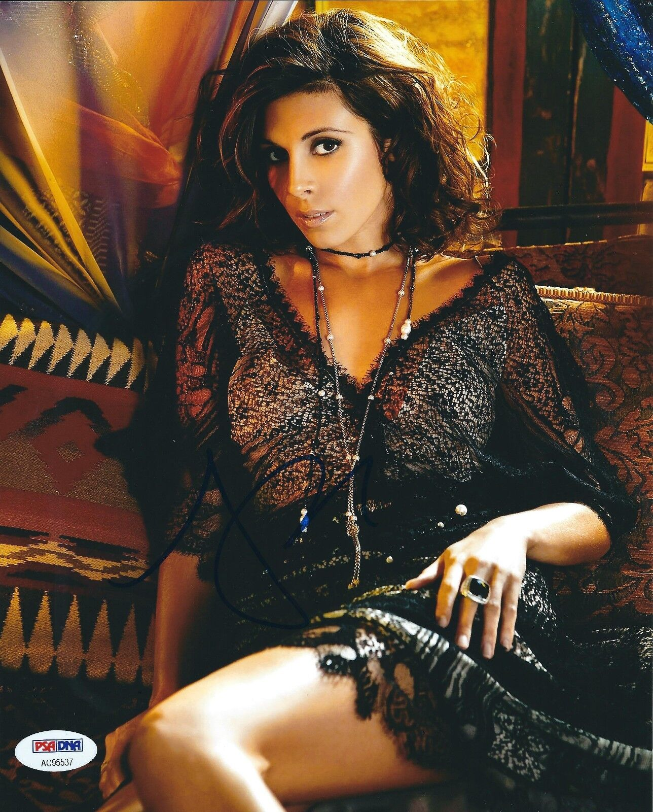Jamie-Lynn Sigler Signed 8x10 Photo *The Sopranos *Entourage *Model PSA AC95537