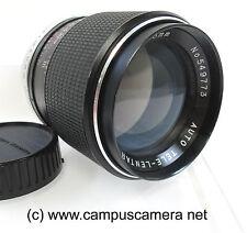 Minolta MC 135mm F2.8 High Speed Prime Telephoto Lens Tete-Lentar VNC Bargain