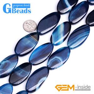 Oval-Banded-Agate-Sardonyx-Gemstone-Beads-For-Jewelry-Making-Strand-15-034