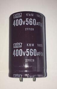 1-PEZZI-CONDENSATORE-ELETTROLITICO-560-UF-MF-400-V-105-30X45-MM-PCE