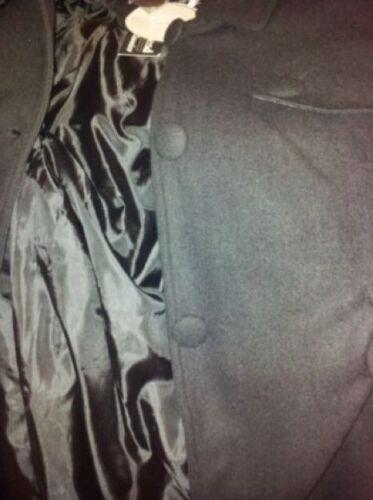 Ladies Size Jacket Rrp Coat 14 Black £40 New Brand fBvn55