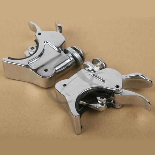 39mm Fork Windshield Windscreen Clamps For Harley-Davidson Sportster XL 883 1200