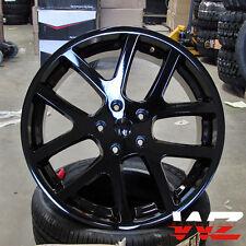 "22"" Viper Style Wheels Gloss Black Fits Dodge Ram 1500 5x139.7 Truck Durango"