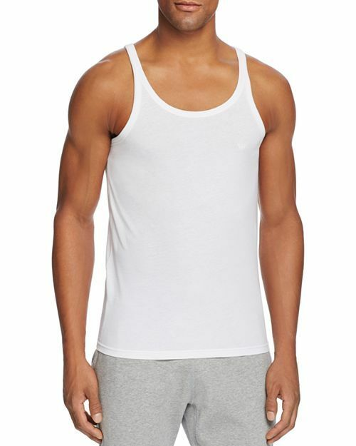 cd4f711dd61c12 Emporio Armani Men s 3 Whites Tank Undershirt Top Size S 100 Cotton ...