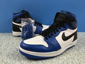 220a1562382e8a Nike Air Jordan Retro 1 High Soar Return Reverse Fragment Blue Sz 9 ...