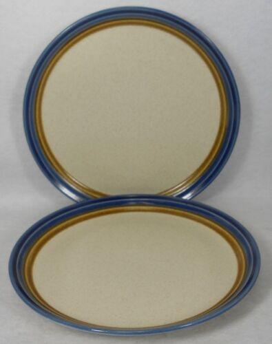 "MIKASA china BLUE HILL J5001 pattern Set of Two SALAD Dessert Plates 7-3//4/"" 2"