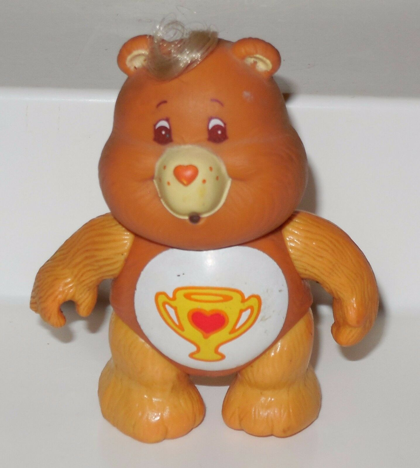 Kenner CARE BEARS Champ Bear Poseable Vintage 80's Rare HTF