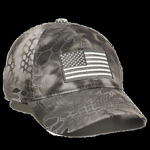 2749e6809 Details about Kryptek Patriotic US Flag Cap Hunting Hat Raid Baseball Cap