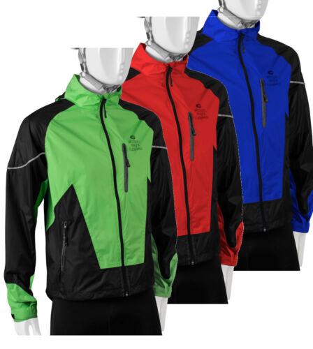 ATD Waterproof Windproof Breathable Cycling Rain Jacket Hooded Windbreaker
