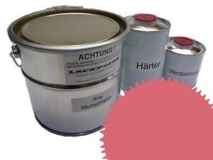3 Liter Set 2K Floor Color Floor Ral 3014 Vinyl-Epoxid-Lack Lackpoint Shine