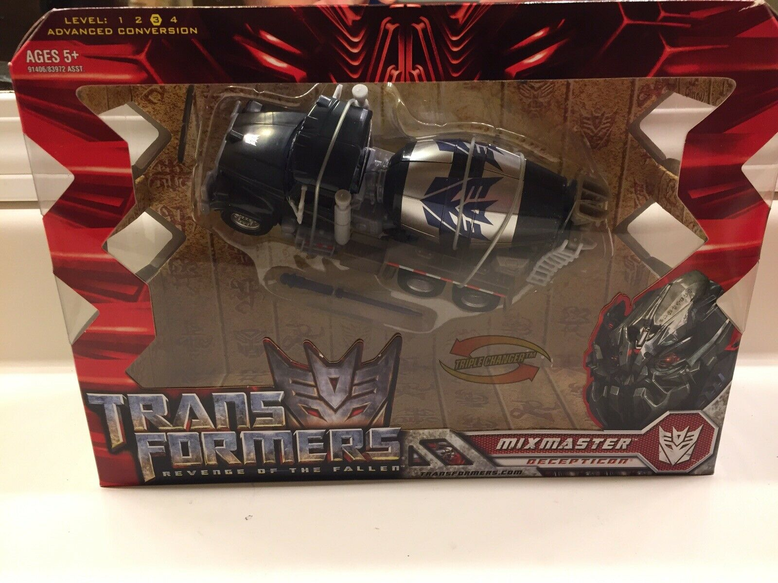 Transformers 2009 Revenge of the Fallen Hasbro Mixmaster Voyager Class