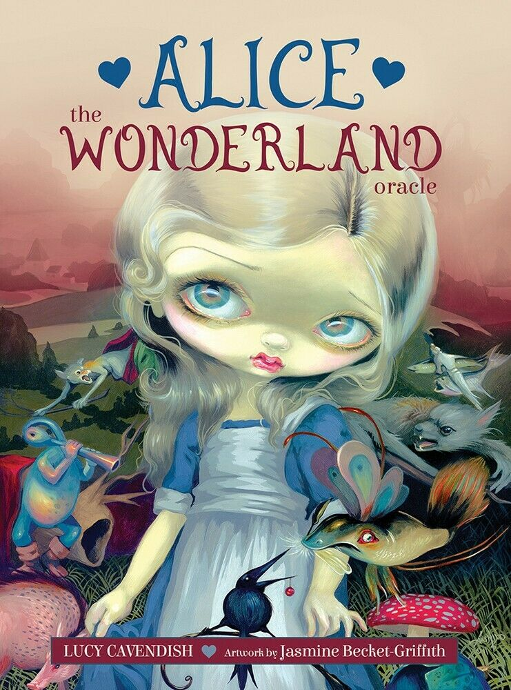 Alice: The Wonderland Oracle Tarot CARD DECK BLUE ANGEL