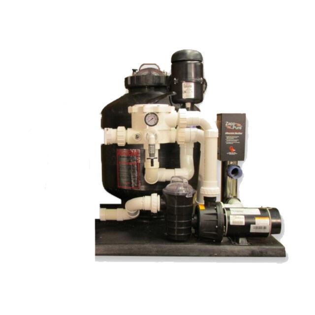 GC Tek AlphaONE BioFilter System AOPS 2 5 Ponds 5,000 Gallons Fish Loads  125lb