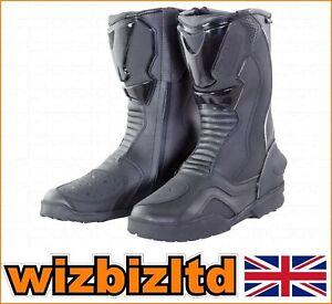BIKE IT ROAD BOOTS / TRANSFER BLACK /  UK9 / EUR43 / US10  BOTRDJ43