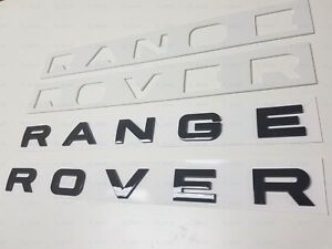 1PC-New-Range-Rover-Gloss-Black-LETTERS-HOOD-TRUNK-TAILGATE-EMBLEM-BADGE