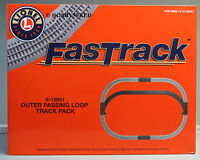 Lionel Fastrack Lot Track Pack Outer Passing Loop Switch Train Fast 6-12031